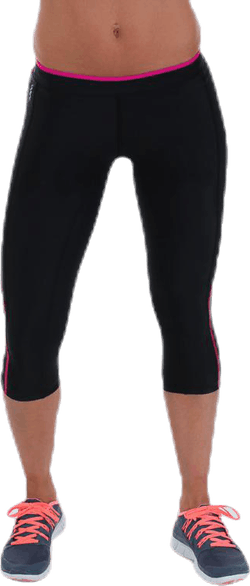 A200 Compression 3/4 Tights Pink/Black