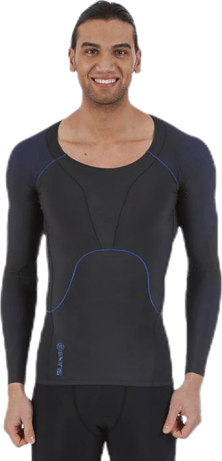 RY400 M Top Long Sleeve Blue
