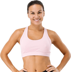 DNAmic Soft Womens Sports Bra Pink