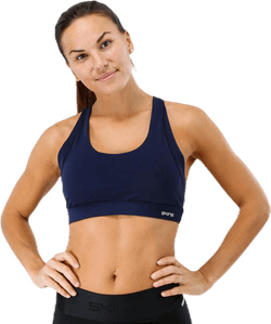 DNAmic Soft Womens Sports Bra Blue