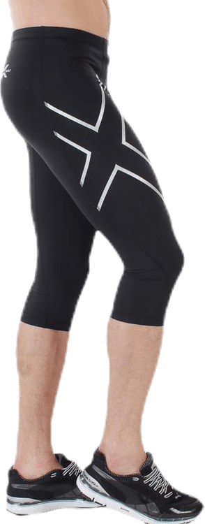 3/4 Compression Tights Black