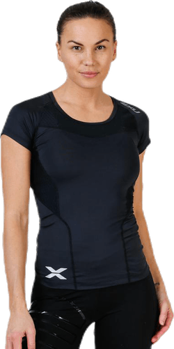 Compression Short Sleeve Top Black