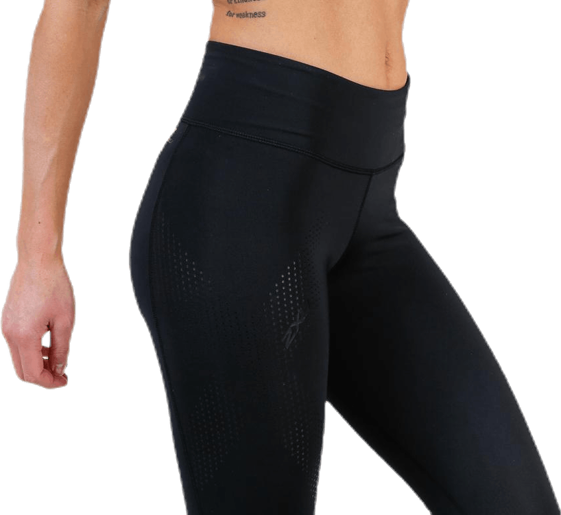 Mid-Rise Compression 3/4 Tight Black