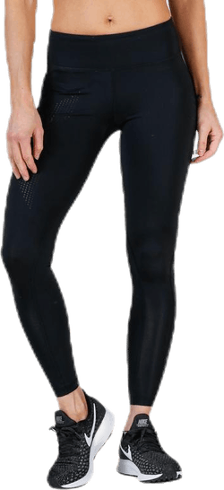 Mid-Rise Compression Tights Black