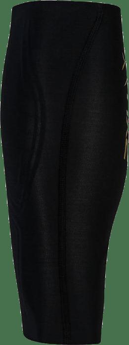 Elite MCS Compression Calf Guard Black/Gold
