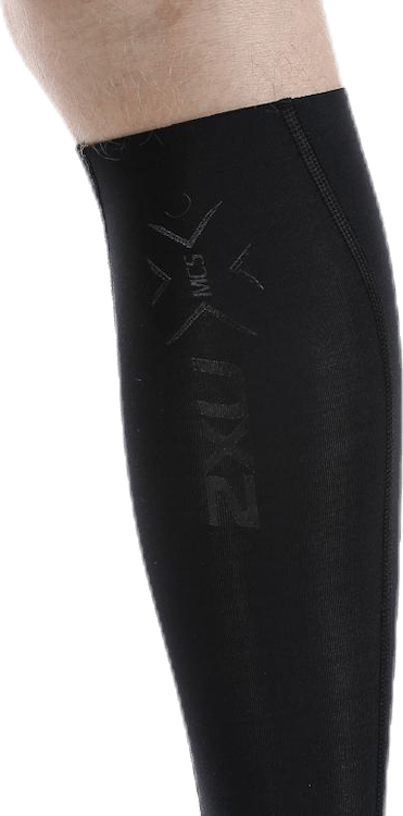 Elite MCS Compression Calf Guard Black