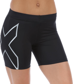 "Core Compression 5"" Shorts W Black/Silver"