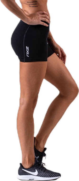 Fitness Comp.4 Inch Shorts Black/Silver
