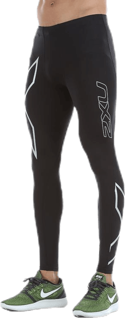 TR2 Compression Tights Black/Silver
