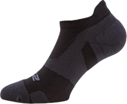 Vectr LightCushion NoShow Sock Black/Grey