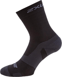 Vectr Light Cushion Crew Socks Black/Grey