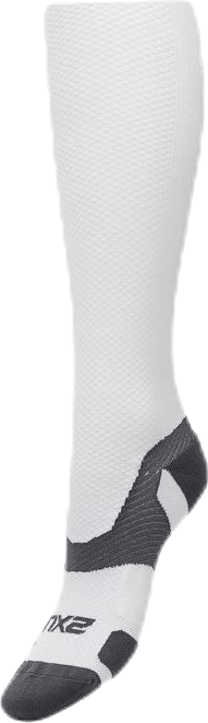 VECTR Light Cushion Sock White/Grey
