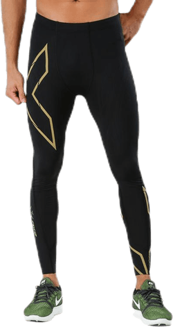 MCS Run Compression Tights M Black/Gold