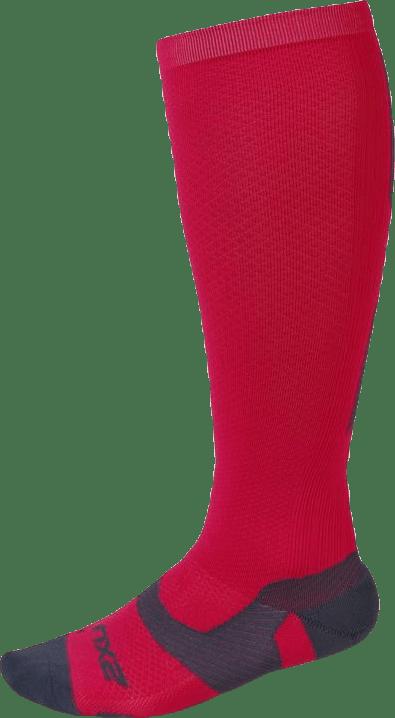 VECTR Light Cushion Sock Pink/Grey