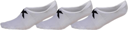 Invisible Sock 3 Pack White/Black