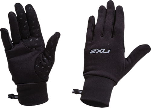 Run Glove Black/Silver