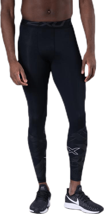 Accel Comp Tights w/Storage Black