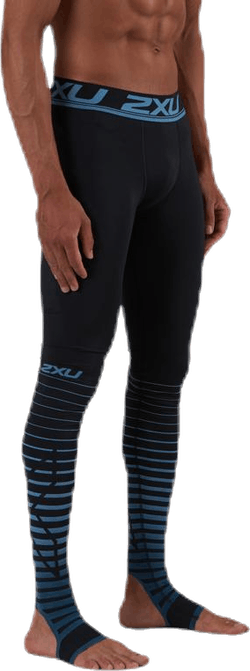PowerRecovery Compression Tights Blue/Black