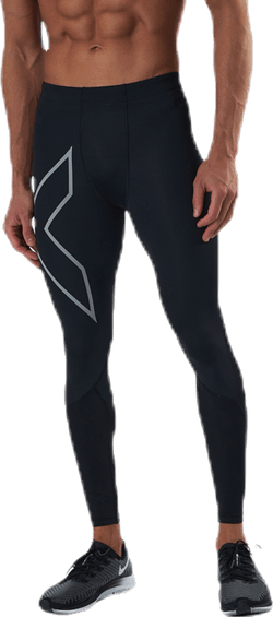 Run Dash Compr Tights Black/Silver