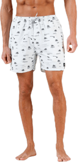 Volley Archipelagoes Swimshorts Beige