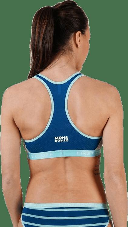 Sierra Sports Bra Blue