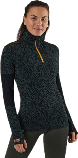 Cornice Half Zip Patterned