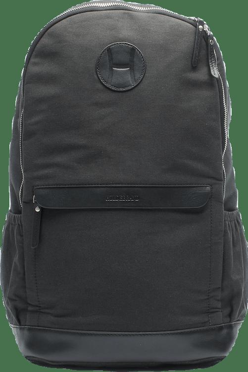 Canvas Tennis Back Pack, H Logo Black
