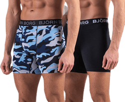 BB Per Shorts 2-pack Patterned