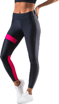 Blocked Compression Tights Black