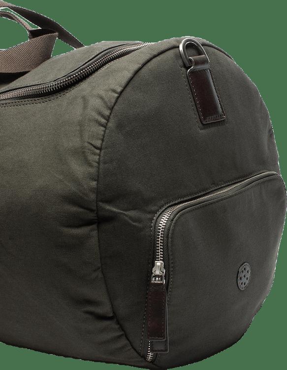 Canvas Tennis Duffel Bag Green