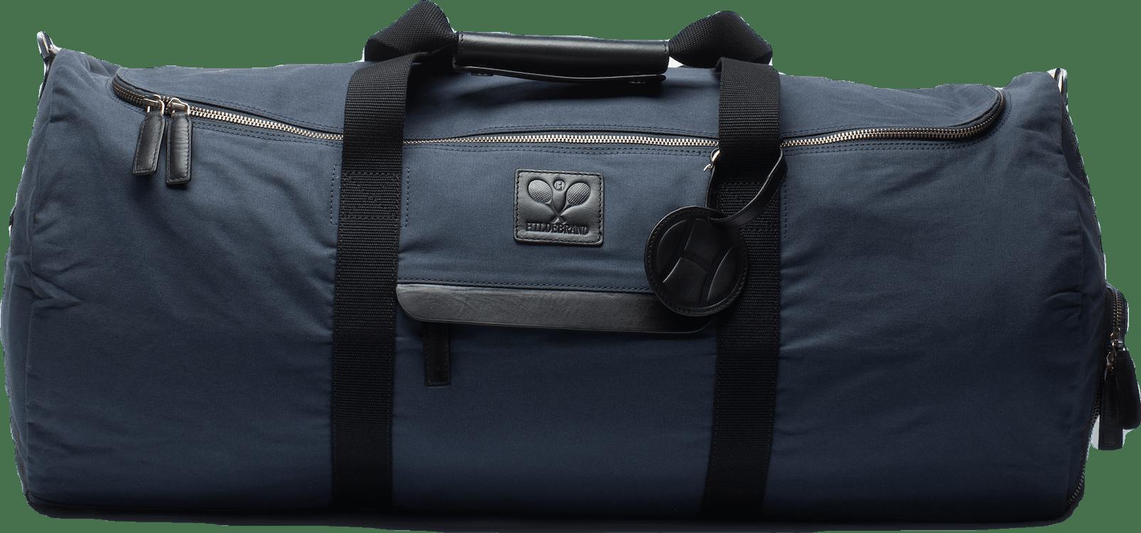 Canvas Tennis Duffel Bag Blue