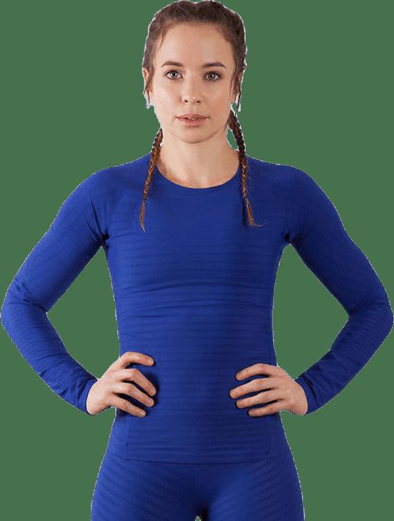 Alphaskin 360 Top LS Blue