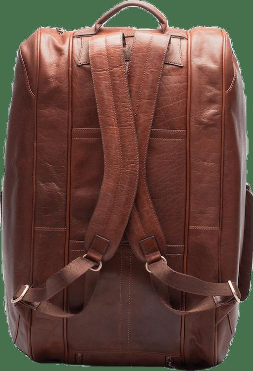 Leather Padel Racket Bag Brown