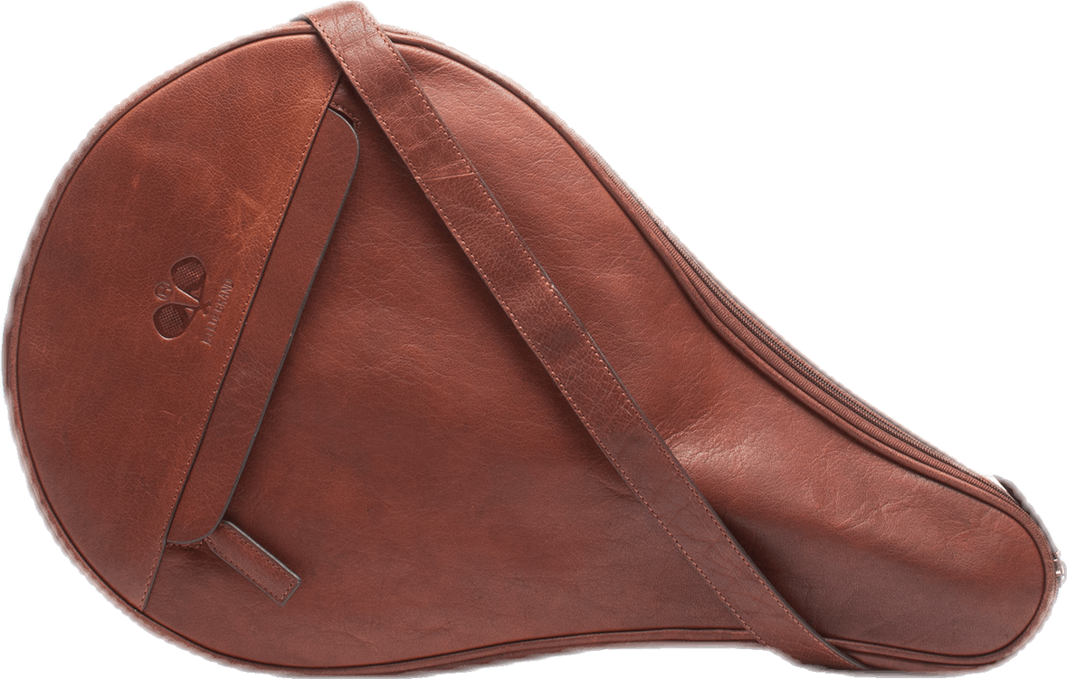 Leather Padel Case Brown