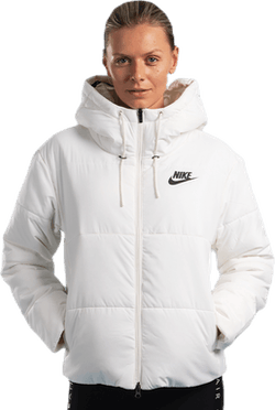 Nsw Padded Hood Jacket White