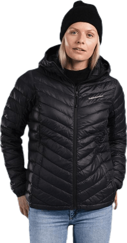 Frost Down Hood Jacket Black