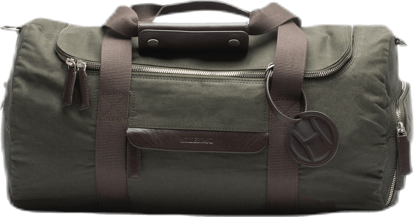 Canvas Small Weekend Bag Green