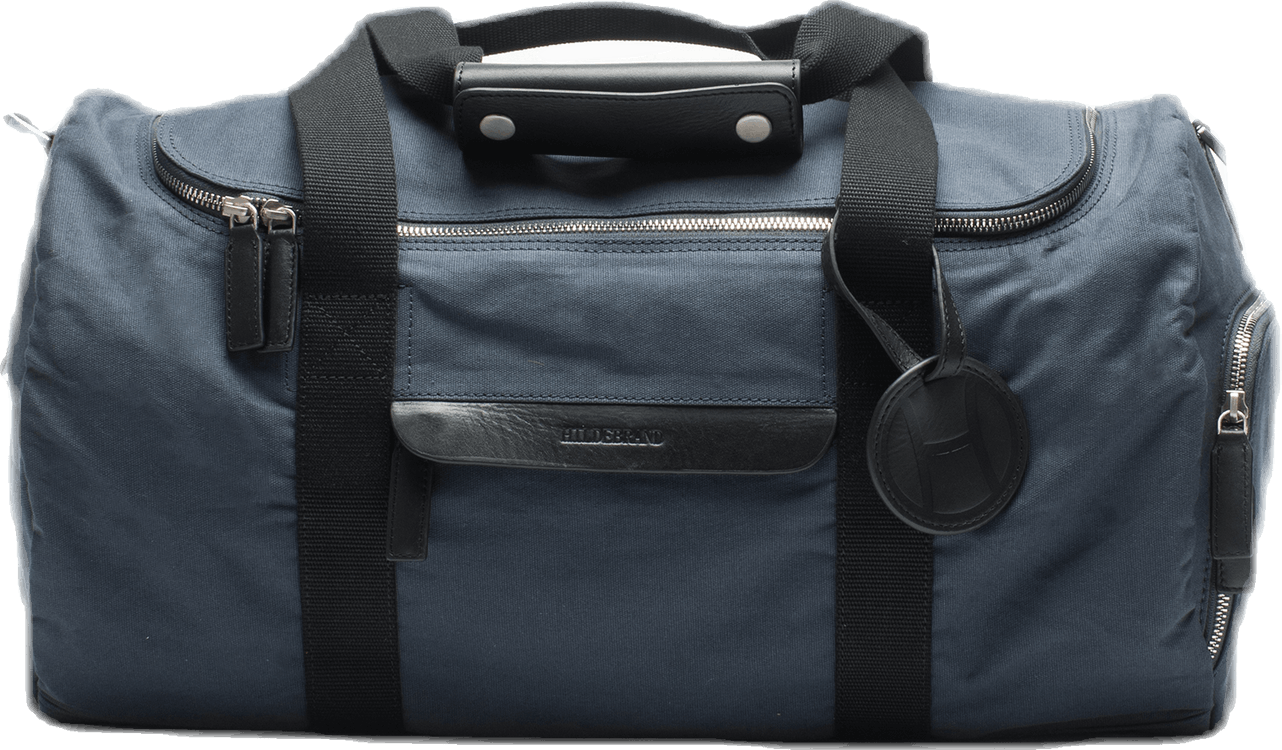 Canvas Small Weekend Bag Blue