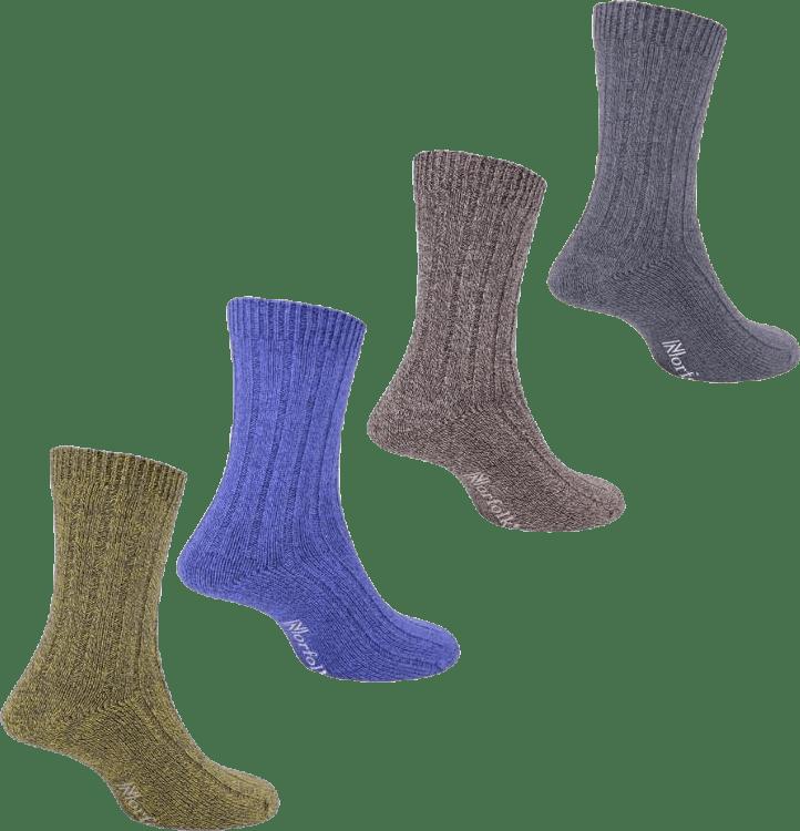 Mens Bamboo Blended Walking Socks - Simon Blue