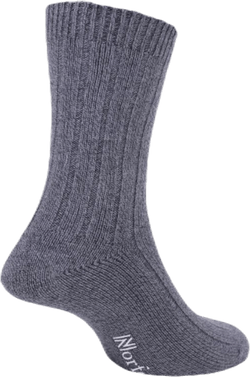 Mens Bamboo Blended Walking Socks - Simon Black