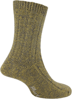Mens Bamboo Blended Walking Socks - Simon Gold