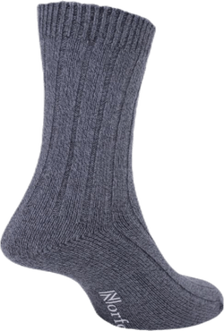 Womens Bamboo Blended Walking Socks - Suzy Black