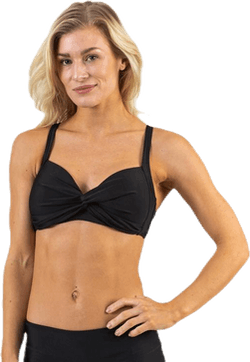 Keleah Supportive Bra Black