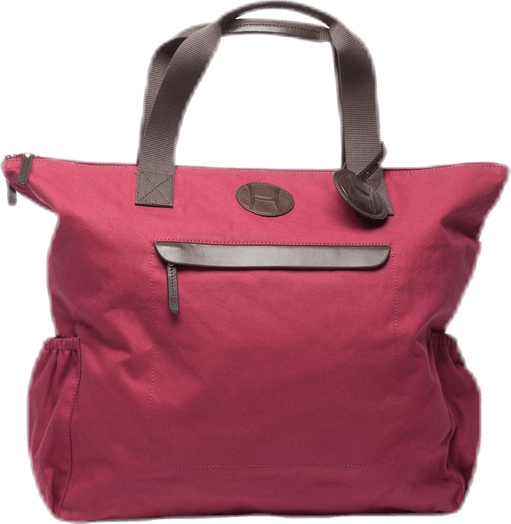 Canvas Tennis Tote Bag Red
