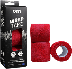Wrap Tape 5CM/4,5M x3 Red