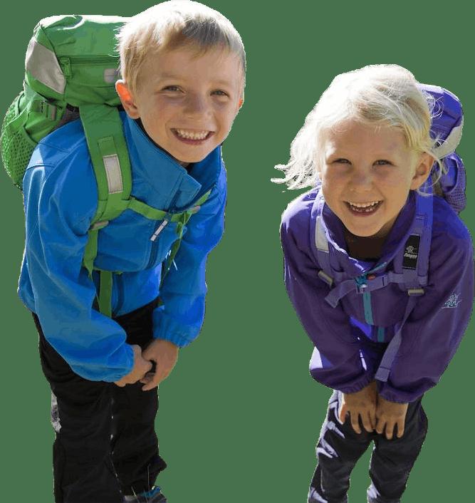 Reine Kids Softshell Blue
