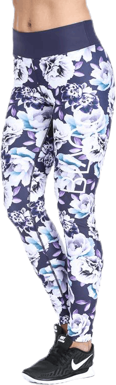 Bluebell ll Purple/Patterned/White