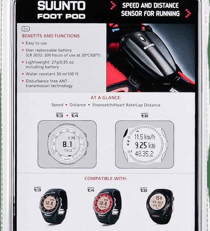 Foot Pod Black