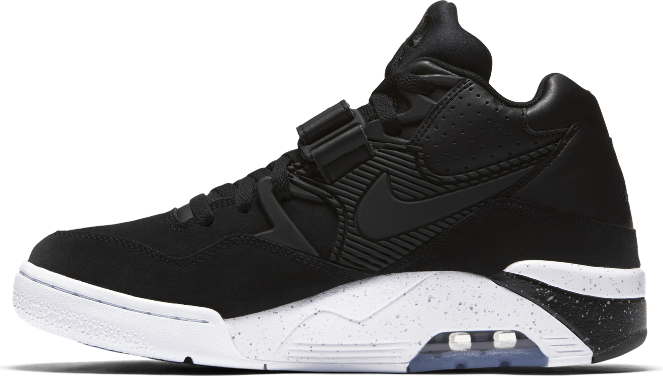 Air Force 180 Black/Black-White