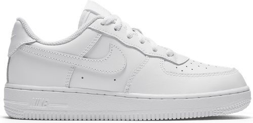 Boys' Force 1 Low (Ps) White/White-White